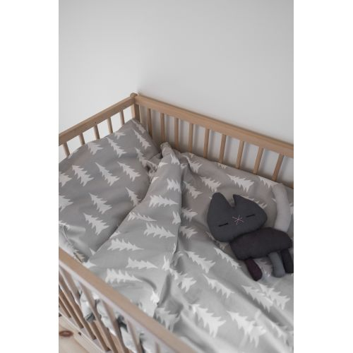 Dětské povlečení Gran Grey 110x130 cm