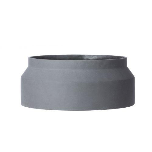 Betonový květináč Dark Grey Large 45 cm