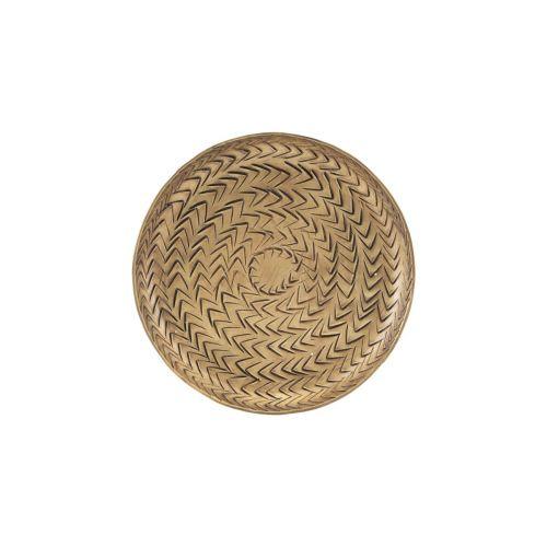 Tácek Rattan Brass 12 cm