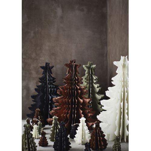 Vánoční dekorace Paper Tree Green