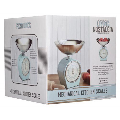 Mechanická kuchyňská váha Blue - 4 kg