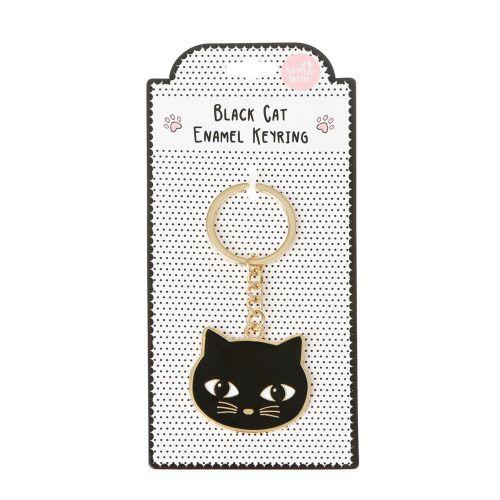 Přívěsek na klíče Black Cat