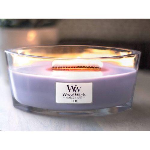 Vonná svíčka WoodWick - Lilac 454 g