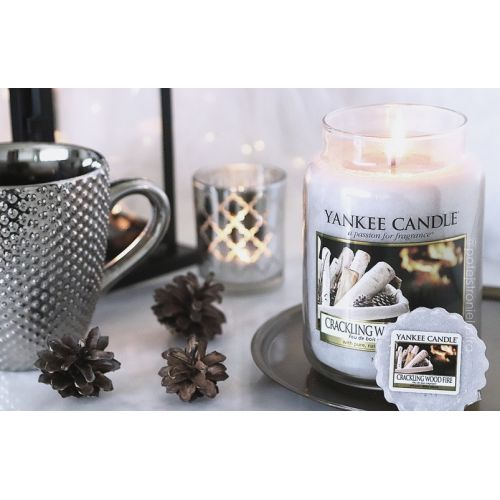 Svíčka Yankee Candle 623gr - Crackling Wood Fire