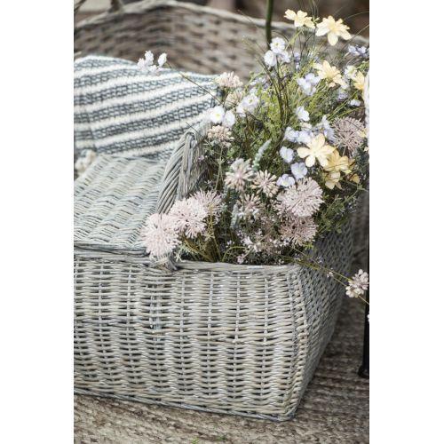 Dekorativní umělé květy White/Beige Tones