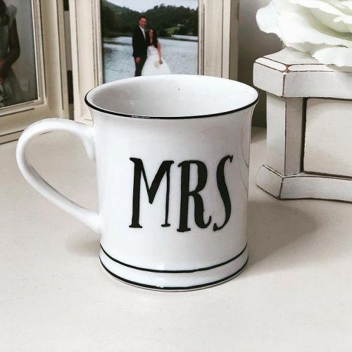 Porcelánový hrnek Mr & Mrs 350ml