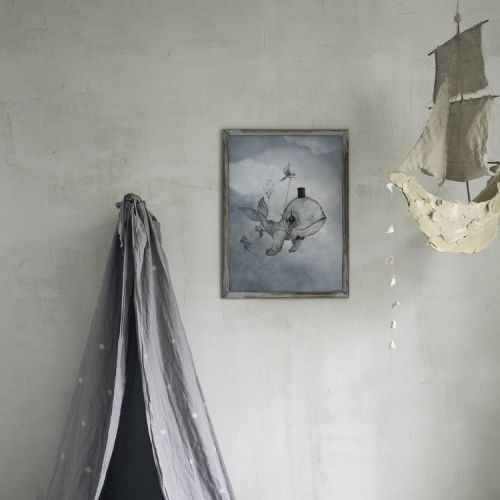 Plakát Dear Whalie 50 x 70 cm