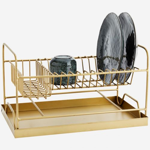 Odkapávač na nádobí Gold Dish Rack