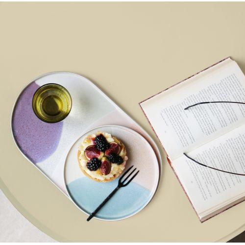 Keramický talíř Mint & Nude