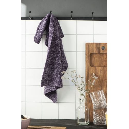 Pletený kuchyňský ručník Mynte Purple