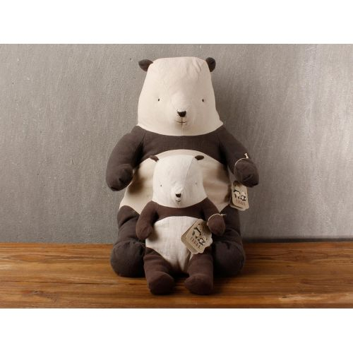 Textilní panda - medium