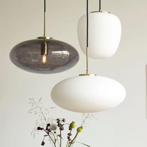 Závěsný lustr White & Golg Lamp