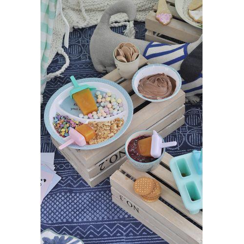 Melaminový talířek s přihrádkami Toby
