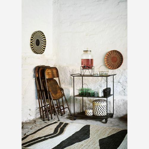Ručně pletený košík Paper Rope Tray