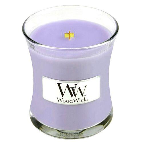 Vonná svíčka WoodWick - Šeřík 85 g