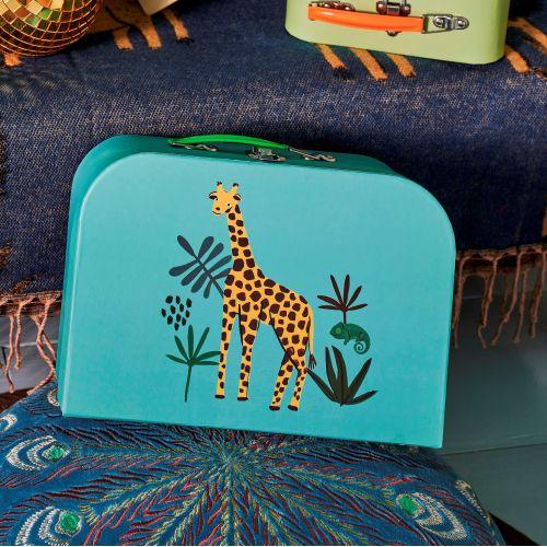 Dětský kufřík Jungle Animals Earth Tones