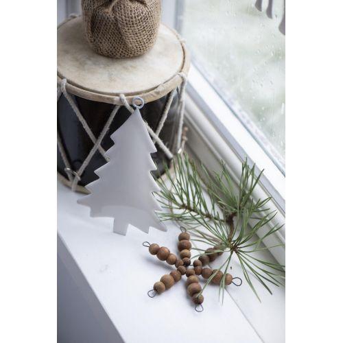 Vánoční ozdoba Tree White