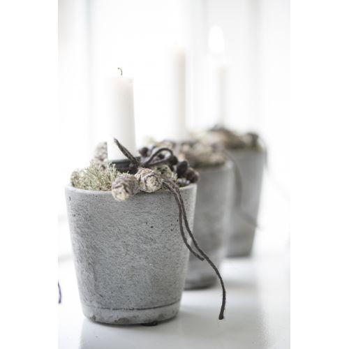 Betonový květník Concrete - malý