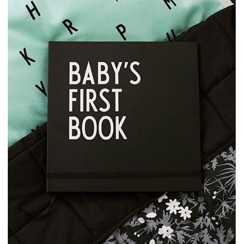 Deník miminka Baby's First Book - Black
