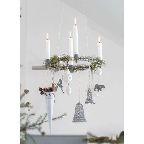 Keramická vánoční ozdoba Snowflake