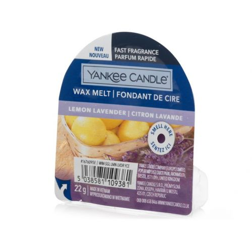 Vosk do aromalampy Yankee Candle 22 g - Lemon Lavender
