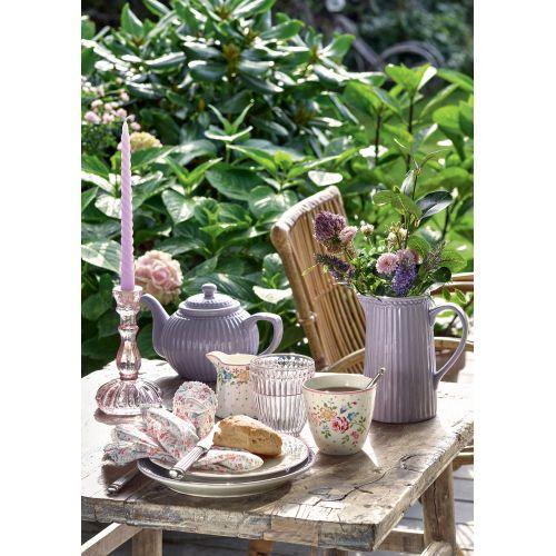 Vysoká svíčka Light Twisted Lavender - set 4 ks