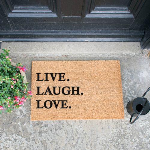 Rohožka Live Laugh Love