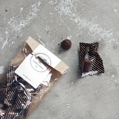 Čokoládové lanýžky s karamelem 110 g