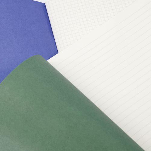 Sada sešitů A4 Study Blue/Green - 2 ks