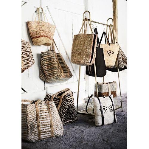 Kožená dekorativní taška Leather & Jute