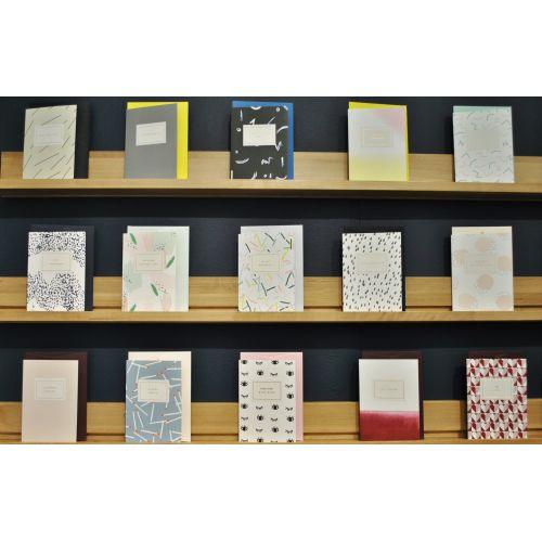 Papírové přání s obálkou Merci Beaucoup