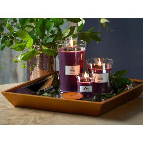 Vonná svíčka WoodWick - Dark Poppy 85 g
