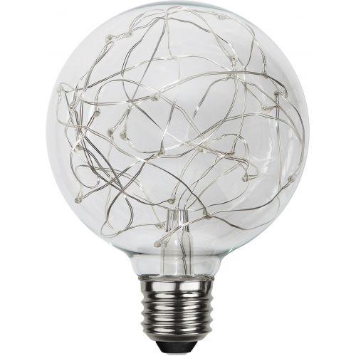 Dekorativní LED žárovka Warm White