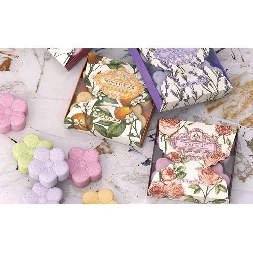 Šumivé květina do koupele - Lavender 4x40g