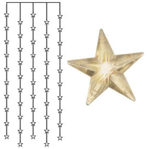 Světelný řetěz s hvězdičkami Star Curtain 90 cm