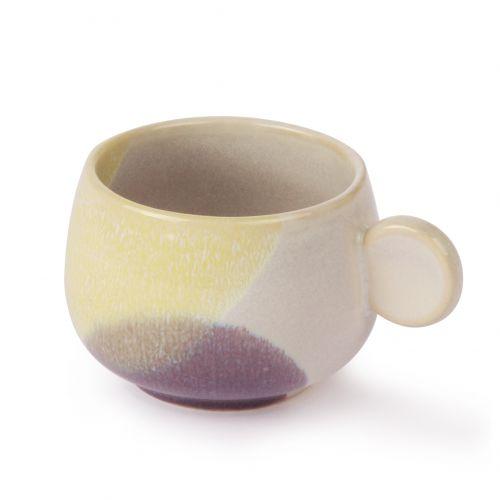 Keramický hrneček  Yellow & Lilac