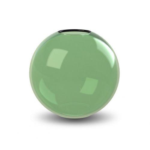Kulatá skleněná váza Ball Glass Green 15 cm