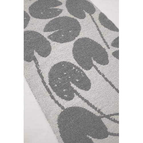 Plastový koberec Water Lilies Grey 70x150 cm