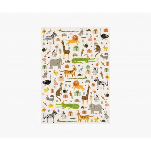 Balicí papír Party Animals - 3 listy