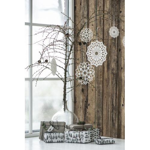 Vánoční papírová ozdoba Circle 20 cm