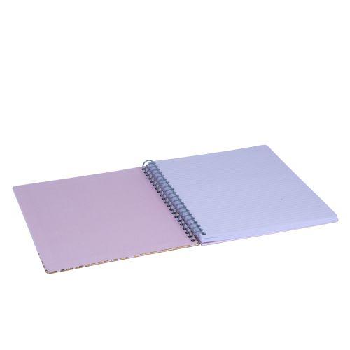 Notes v kroužkové vazbě Copper Dot 28 cm
