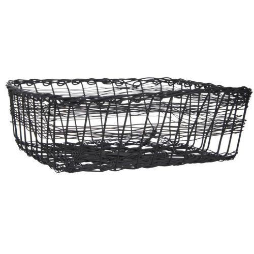 Drátěný košík na ubrousky Black