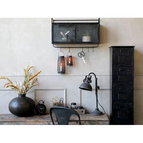 Stolní lampa Factory Antique Black 53cm