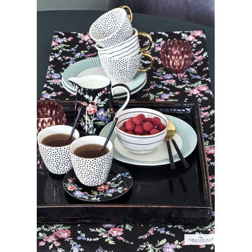 Porcelánový talířek Isobel Black 15cm