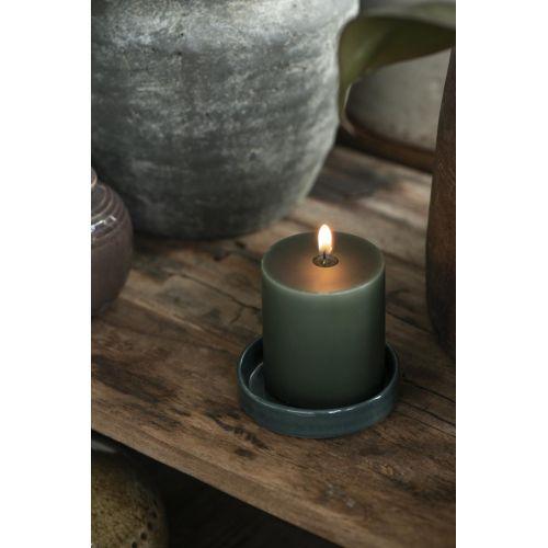 Svíčka Deep Green - 7 cm