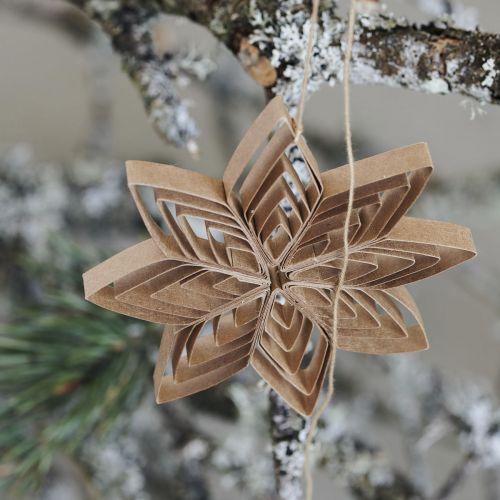 Vánoční ozdoba Ouilling Natural Ø10 cm
