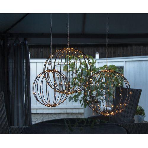 Závěsná svítící dekorace Mounty Ø30 cm
