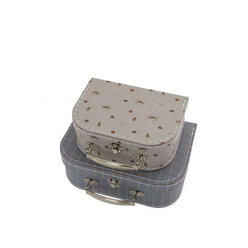 Dětský kufřík Mini Tiger Grid