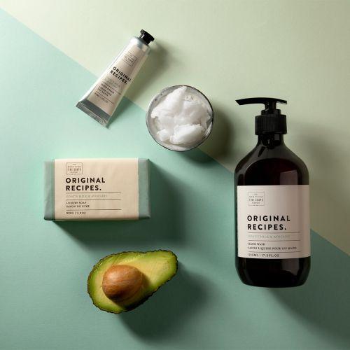 Luxusní tuhé mýdlo Kozí mléko a avokádo - 220g