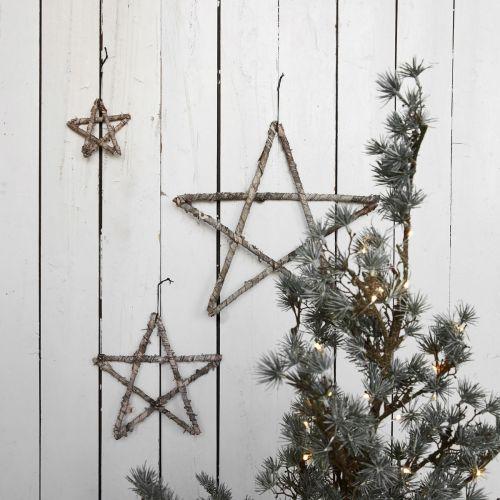 Dřevěná hvězdička Wood 12cm